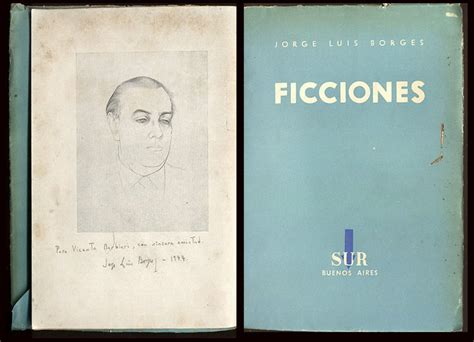 ficciones spanish edition ficciones 1935 1944 signed by borges jorge luis vicente barbieri 1944
