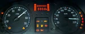 Renault Megane Dashboard Symbols Tryb Serwisowy Zegar 243 W Clio Thalia Logan Mr Fix Pl