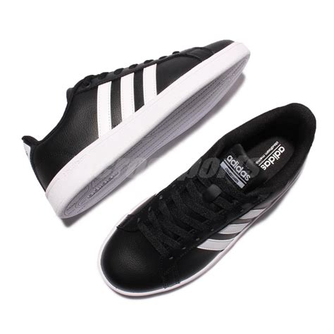 Adidas Advantage Leather adidas cloudfoam advantage w black white leather