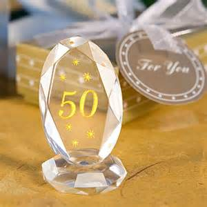 50 Birthday Favors by 50th Anniversary Plaque Wedding Favors