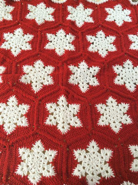 snowflake pattern crochet afghan crotchet snowflake blanket snowflake afghan christmas