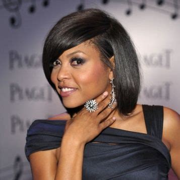 what type of hair does taraji henson weave 47 best images about round face on pinterest bangs my