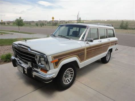 1991 jeep wagoneer interior 1991 jeep grand wagoneer for sale car interior design