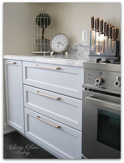 kitchen update diy pots and pans drawers glam