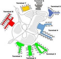 map of kenedy us airport terminal maps slideshow quiz by desafinado440