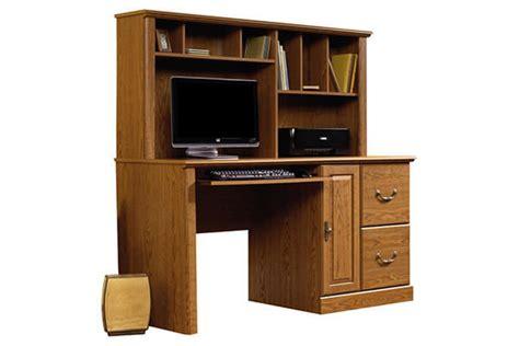 sauder orchard hills computer desk with hutch carolina oak top 10 best corner computer desk with hutch in 2017
