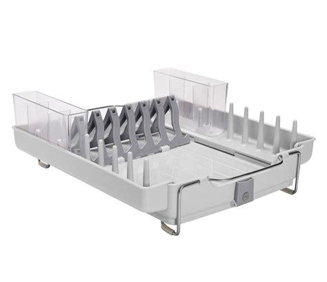 in dish rack oxo good grips foldaway dish rack in dish racks