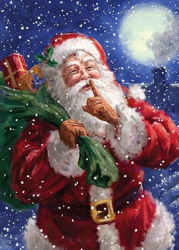 charity christmas cards  santa   sack  presents flickr