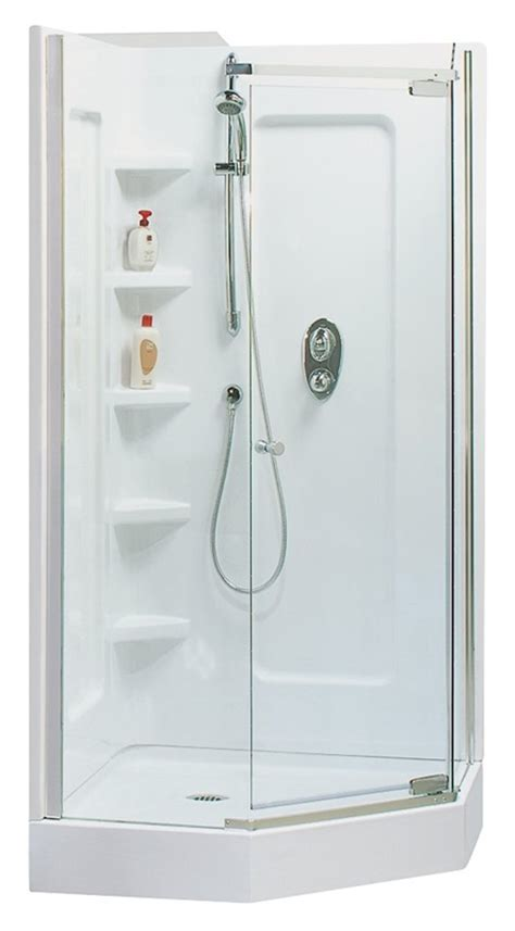 4 Shower Stall Kit by Maax Tigris 102889 000 Shower Stall Kit 38 In L X 38 In W