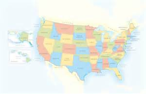 united states map showing hawaii map of united states of america separate boxes showing