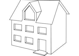 how to draw a doll house how to draw dolls house