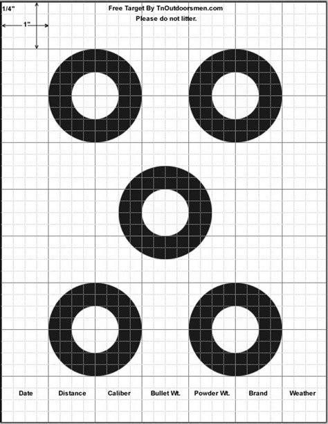 target templates printable pictures to pin on pinterest free targets printable shooting rifle pistol shotgun