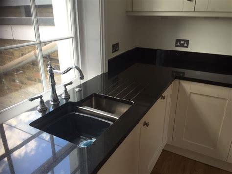 Quartz Kitchen Worktops Review by Cosmico Nero Rock And Co Granite Ltd