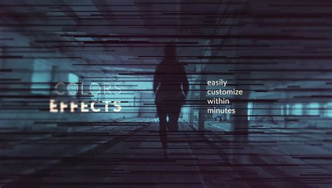 aftereffects template calibrate monochrome title sequence after effects template