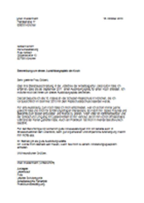 Anschreiben Bewerbung Koch Azubi Azubine Berufe Datenbank Koch