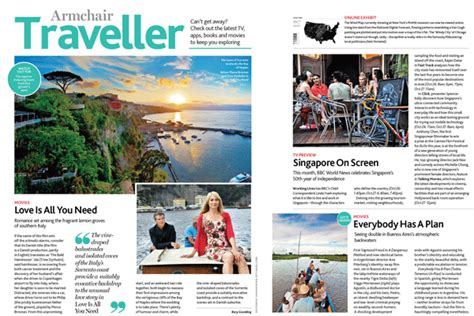 magazine sections traveller s diaries travel agents not media responsible