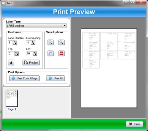 label printing templates ssuite label printer 2 8 4 1 free freewarefiles