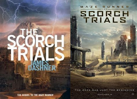 maze runner 2 film vs book the scorch trials book to film differences the maze