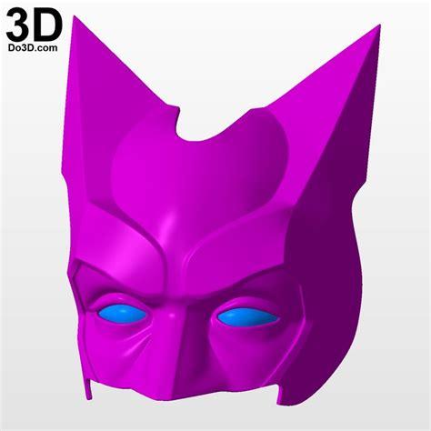Batgirl Cowl Template