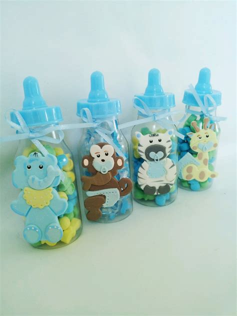 Bottle Baby Shower Favors by Items Similar To 6 Jungle Safari Favor Baby Bottle