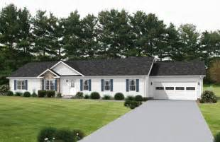 mobile home curb appeal arlington iv au168a classic ranch modular home