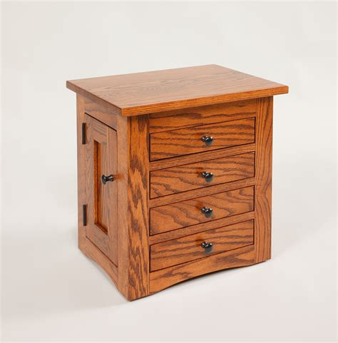 Jewelry Dresser by Flush Mission Jewelry Dresser Chest Amish Valley Products