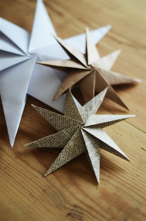 Paper Craft Ornaments - how to make decorative paper diy crafts handimania