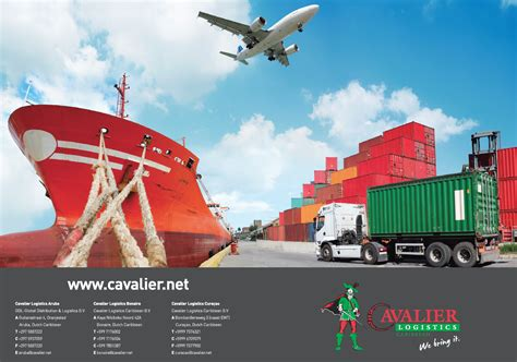 cavalier logistics air freight sea freight road transport