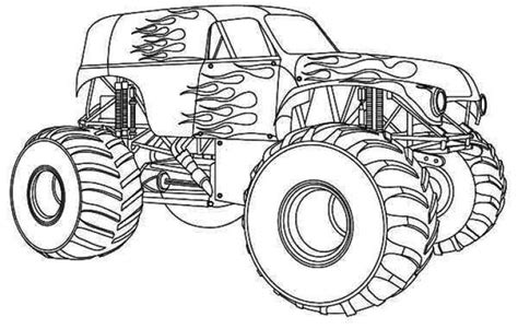 coloring pages monster trucks free monster truck coloring page transportation coloring
