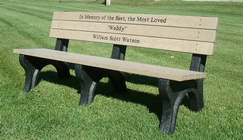 park bench memorial finding the perfect memorial park bench occ outdoors blog
