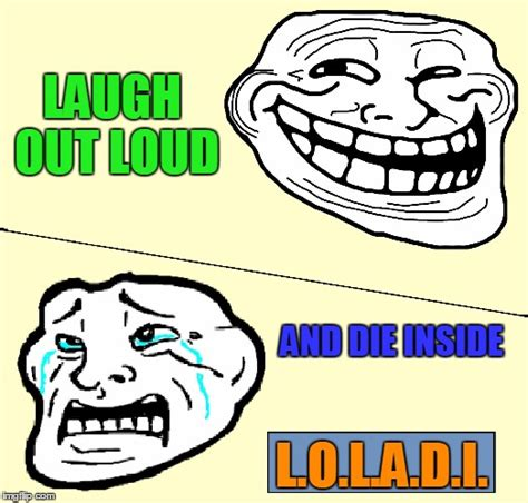 Meme Generator Troll - crying troll face imgflip