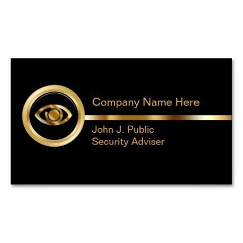 security business card templates free 172 best images about security business cards on