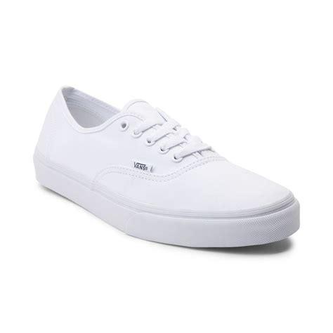 Vans Authentik vans authentic skate shoe white 499367