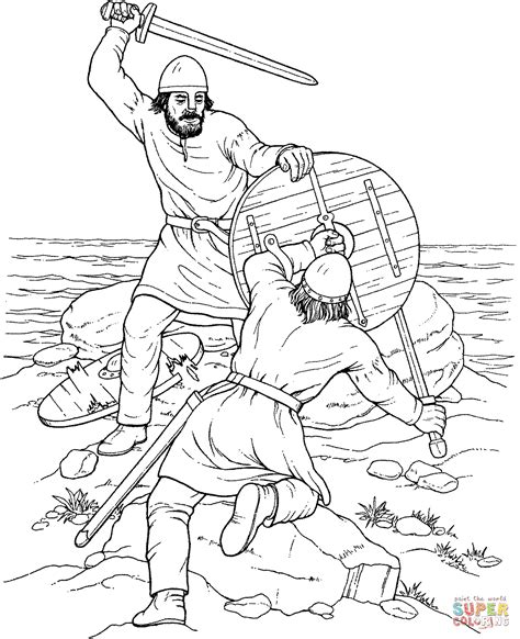 printable coloring pages vikings share