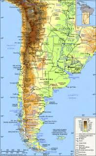 argentinien bergen karte