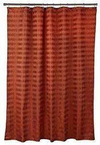 popular bath argyle rust fabric shower curtain