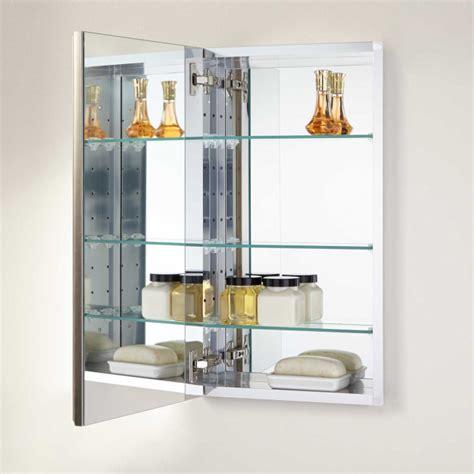 15 recessed medicine cabinet 15 quot bernstein recessed deco aluminum medicine cabinet