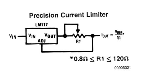 current limiting resistor for battery charger constant current circuit for high watt leds