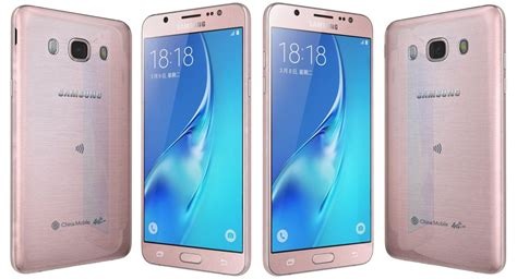 3d Samsung J5 samsung galaxy j5 2016 3d model