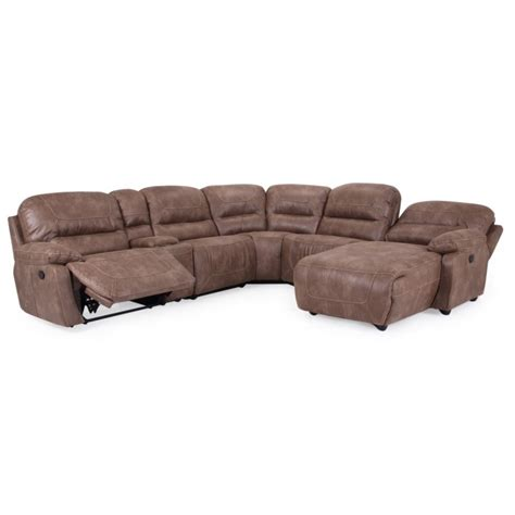 cheers sectional sofa cheers 9160 reclining sectional eaton hometowne