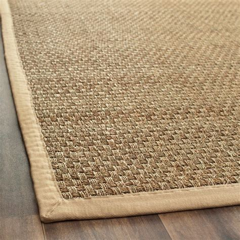 Soft Seagrass Rug woven sisal beige seagrass rug 9 x 12