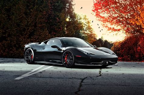wallpaper black ferrari black ferrari wallpapers wallpaper cave