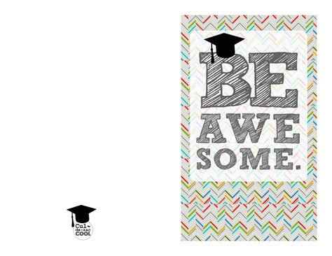 free graduation card templates free printable graduation card template update234