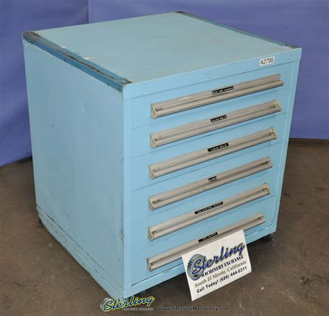 Drawer Parts Cabinet by Used 6 Drawer Heavy Duty Parts Cabinet Sterling
