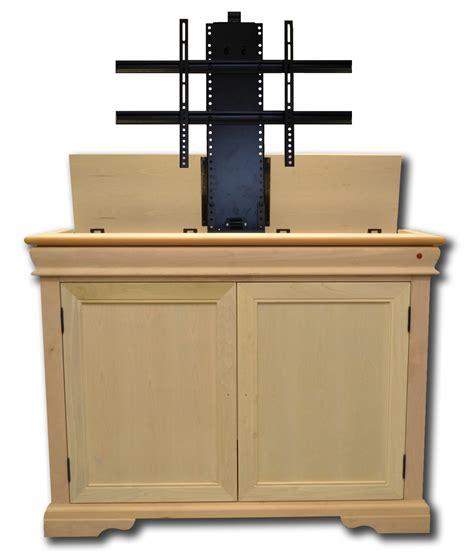 modern tv stand tremont unfinished wood tv lift cabinet large size tremont unfinished wood tv uplift tv cabinets cabinets matttroy