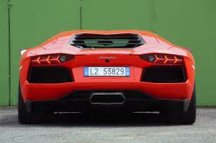 Lamborghini Aventador Rear The Lamborghini Huracan Gives Its Costlier Sibling The
