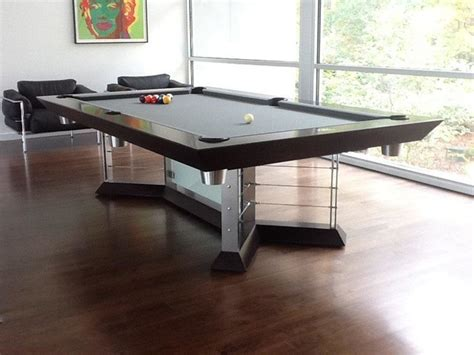 Stainless Steel Pool Tables By Mitchell Pool Tables Modern Pool Table