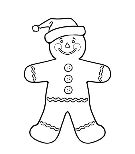 coloring page gingerbread boy gingerbread boy coloring pages az coloring pages
