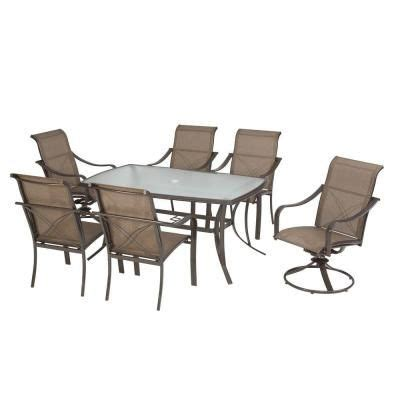 Martha Stewart Living Dining Furniture Grand Bank 7 Piece Martha Stewart Outdoor Living Patio Furniture