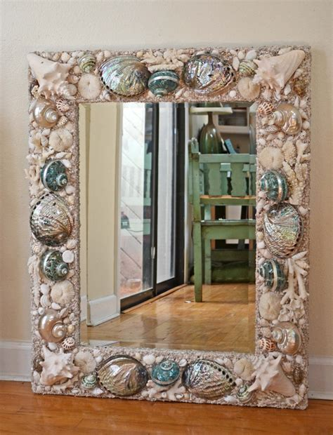 shell bathroom mirror 379 best images about diy shell decor on pinterest